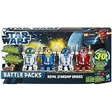 "Star Wars Battle Packs ""Royal Starship Droids"" Star Wars Episode I - The Phantom Menace 3D von Hasbro"