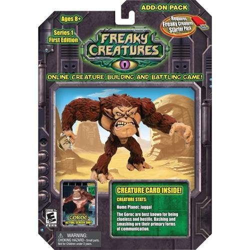 Freaky Creature Series 1 Add-on Pack Action Figure - GOROC