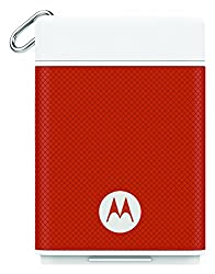 Motorola P1500 Power Pack Micro 1500mAH Portable Battery for Smartphones with Motorola Key Link to Find Phones/Keys (Spice)
