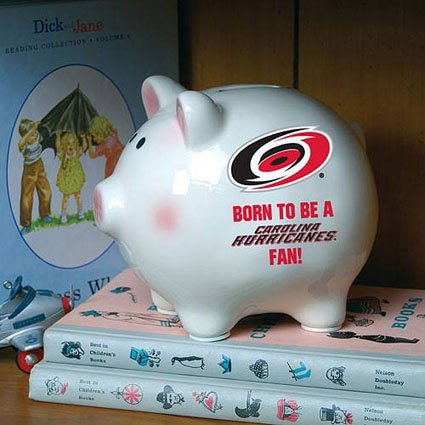Memory Company Carolina Hurricanes Born to Be Piggy Bank