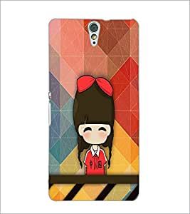 PrintDhaba Cartoon D-3340 Back Case Cover for SONY XPERIA C5 ULTRA (Multi-Coloured)