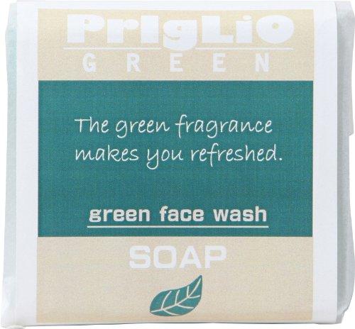 プリグリオグリーン洗顔せっけん 80g