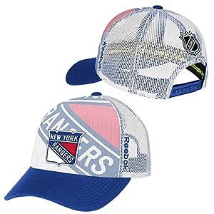 Reebok New York Rangers 2014 Official Draft Day NHL Cap