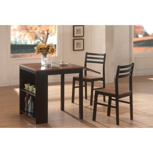 Coaster home furnishings 130015 casual dining room 3 piece for 3 piece dining room