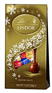 Lindt LINDOR Assorted Chocolate Holiday Truffle 7.2 Ounce
