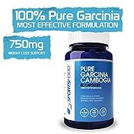 100% Pure Garcinia Cambogia 60% HCA 7…