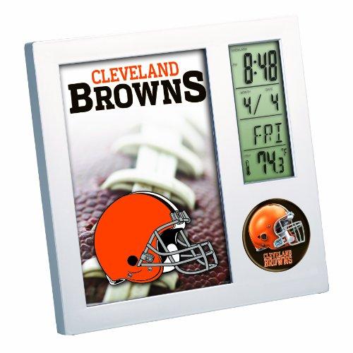 NFL Cleveland Browns Digital Desk Clock