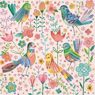 Paper+Design ドイツ製 ペーパーナプキン 鳥
