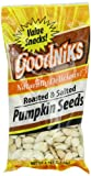 Goodniks, Pumpkin Seeds, Roasted & Salted, 3.75-Ounce Bags (Pack of 12)