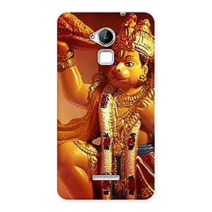 Impressive Lord Hanuman Multicolor Back Case Cover for Coolpad Note 3