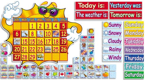 Scholastic Teachers Friend Sunshine Classroom Weather