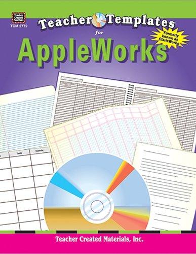 Teacher Templates for AppleWorks(R) (ClarisWorks(R) )
