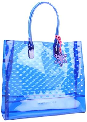 Juicy Couture Leann YHRU2999 Tote,Cobalt Glow,One Size