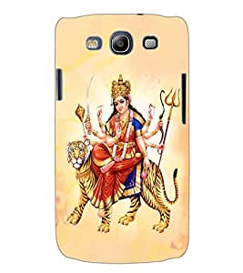 ColourCraft Lord Durga Back Case Cover for SAMSUNG GALAXY S3 I9300