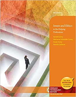 ethics and marianne schneider corey Issues and ethics in the helping professions gerald corey, marianne schneider corey, patrick callanan cengage learning, 2007 - 576 pages.