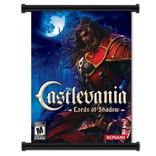 Castlevania Lord of Shadows Game Fabric Wall Scroll Poster (16x20) Inches