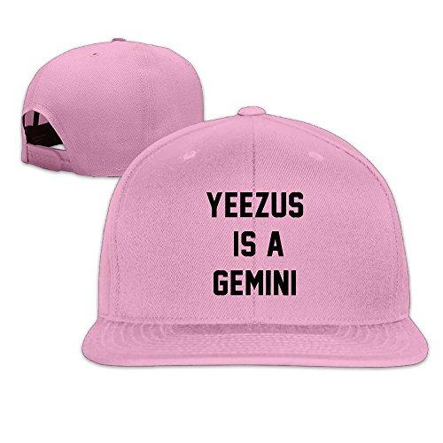 huseki-custom-yeezus-is-a-gemini-flat-baseball-caps-hats-pink