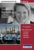 echange, troc Udo Gollub - Sprachenlernen24.de Italienisch-Basis-Sprachkurs: PC CD-ROM für Windows/Linux/Mac OS X + MP3-Audio-CD für Computer /MP3-Playe