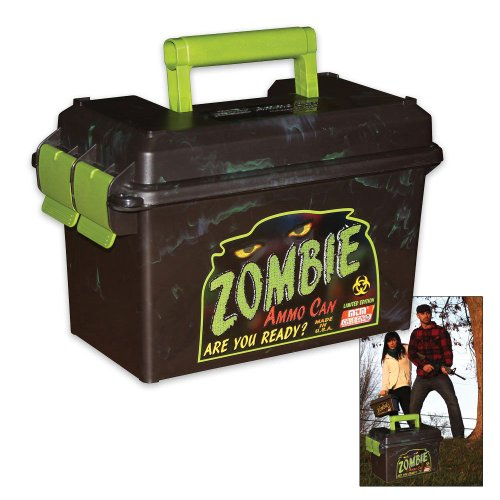 Mtm Limited Edition Zombie Ammo Can (Black And Green)