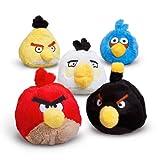 Angry Birds(アングリーバード) 5インチ ぬいぐるみ サウンド付き レッドバード