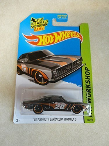 2014 Hot Wheels '68 Plymouth Barracuda Formula S HW Workshop 239/250