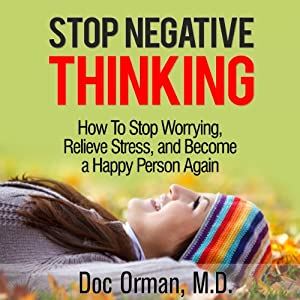 Stop Negative Thinking Audiobook