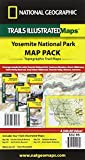 Yosemite National Park [Map Pack Bundle] (National Geographic Trails Illustrated Map)