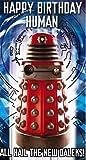 Doctor Who Dalek Birthday Card