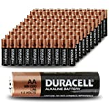 Duracell Coppertop MN1500 AA Batteries , 100 Pack Count