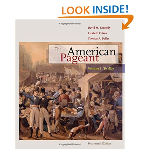 american pageant 13th edition ch 18 340 likes this is a podcast of the reading of the ap us history textbook, the  american pageant  june 18, 2016  the american pageant ch 11mp3.