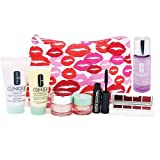 Clinique Make Up ans Skin Care Gift Set for Her with Cosmetic Bag 8pcs
