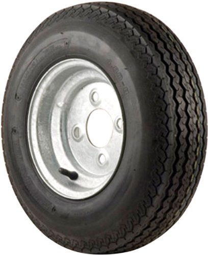4.80 X 8'' 4-Lug Tow-Master Trailer Tire With Galvanized Wheel