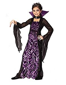 Countess of Darkness Costume - Girls Vampire Costume with Bracelet for Mom