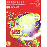 3 HK 3G International Roaming Rechargeable SIM Card
