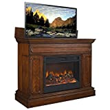 TV Lift Cabinet AT004602S Remington TV Lift Cabinet (Brown)