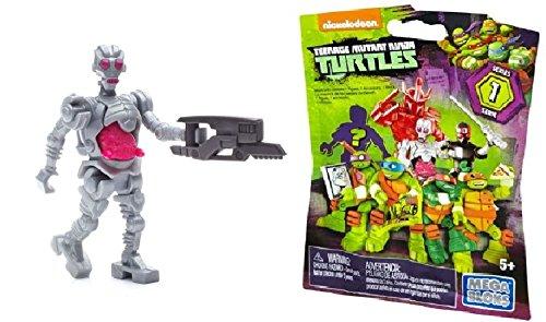 Mega Bloks Teenage Mutant Ninja Turtles Series 1 Mystery Pack -Rare Krang Mini Figure