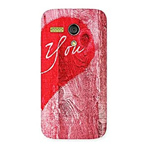 Ajay Enterprises WoPink You Multicolor Back Case Cover for Moto G