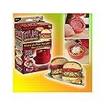 tinxi® Stufz Burgerpresse Hamburgerpr...