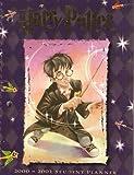 Harry Potter Student Planner 2001 Calendar