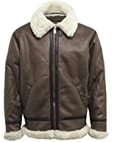 Alpha Industries Faux Wool WW2 Flight/Pilots Jacket