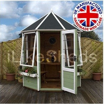 6FT x 6FT BUTTERMERE OCTAGONAL SUMMERHOUSE