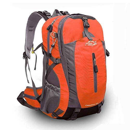 Diamond Candy Zaino Trekking Sportivo Outdoor Donna e Uomo per campeggio alpinismo arrampicata Viaggio Bicicletta ad Alta Capacità,Multifunzione, 40 litri Arancione