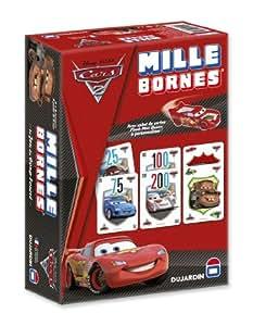 Dujardin - 59265 - Jeu de Société - Mille Bornes - Cars 2 - Standard
