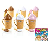 SET OF 6 Ice Cream Magic Ice Cream Maker THE PARTY PACK- As Seen On TV Makes in 3 Min!