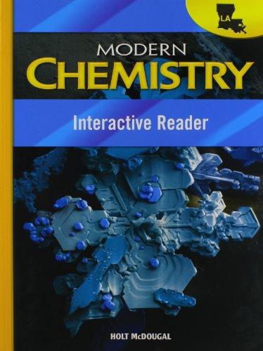 Holt McDougal Modern Chemistry Louisiana: Interactive Reader