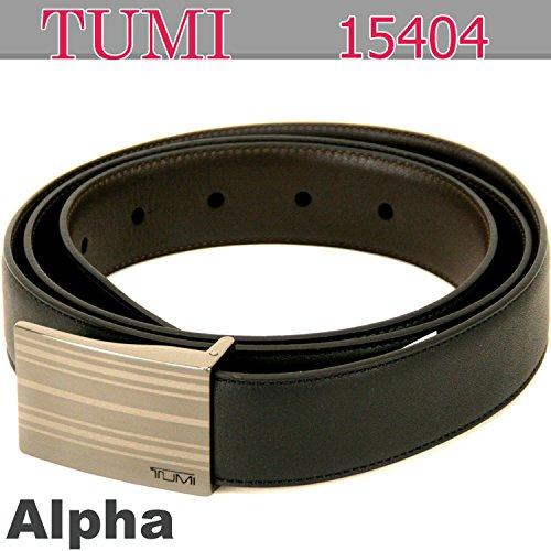 (トゥミ) TUMI Alpha リバーシブル・ストライプ 15404 ベルト 服飾小物 ブラック 黒[並行輸入品]