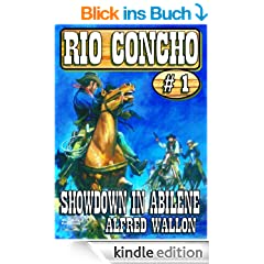 Showdown in Abilene (A Rio Concho Western) (English Edition)