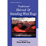 Traditional Shirred and Standing Wool Rugsby Diana Blake Gray