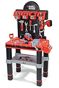 smoby 500263 jeu d 39 imitation bricolage outil et tabli black et decker bricolo center. Black Bedroom Furniture Sets. Home Design Ideas