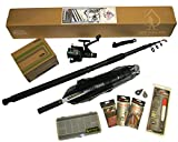 Sea Fishing Kit. Everything You Need. Beach Pier or Rocks. Rod, Reel, Net & Tackle